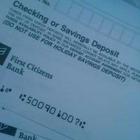 Photo taken at First Citizens Bank by Dee on 1/7/2014
