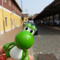 Photo taken at Stazione Chivasso by Mc Y. on 3/10/2014