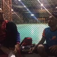 Photo taken at Galaxy Futsal Bangi by EmmaN on 10/10/2017