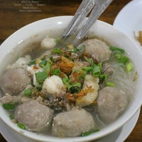 Photo taken at Bakso Amat by Dolly R. on 5/3/2017