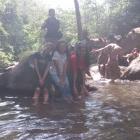 Photo taken at Air Terjun Sekarlangit by Dewi G. on 10/10/2013