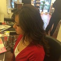 4/14/2014 tarihinde Cihan Ş.ziyaretçi tarafından By OsmanCanBulat Hair Dizayn'de çekilen fotoğraf