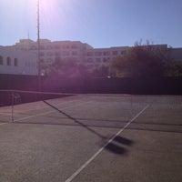 Photo taken at Golden Tulip Court Tennis by Ahmed B. on 11/25/2012