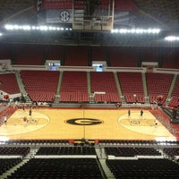 Photo taken at Stegeman Coliseum by Blair C. on 2/21/2013