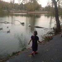 Photo taken at Lake Springdale by Blair C. on 10/21/2012