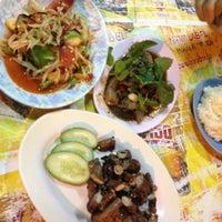 Photo taken at ลาบ ลุงทัย by Besty A. on 12/4/2012