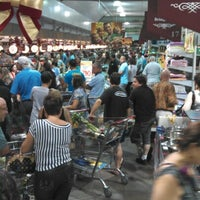 Photo taken at Bourbon Hipermercado by Fabiano R. on 12/23/2012