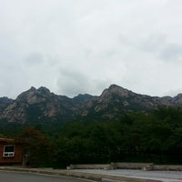Photo taken at 월출산 by DC N. on 8/31/2014