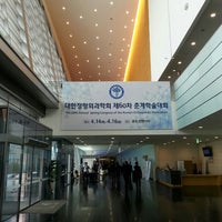Photo taken at Songdo Convensia by DC N. on 4/14/2016