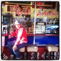 Photo taken at Chile Lindo Empanadas by Gabriel on 4/16/2014