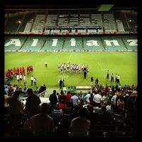 Photo taken at Allianz Stadium by Doron K. on 2/14/2013