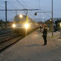Photo taken at Station Ieper by Els B. on 9/26/2014