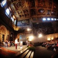 Photo taken at Salone dei Cinquecento by Michele S. on 4/10/2014