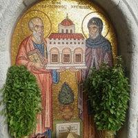 Photo taken at Monastery of Saint John The Divine by JoAnna K. on 10/22/2013