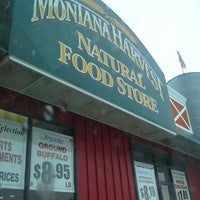 Photo taken at Montana Harvest Natural Food Store by Jonathan E. on 12/21/2013