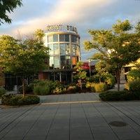 Photo taken at Kent Station Plaza by Iris W. on 8/19/2013