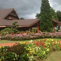 Photo taken at Doi Tung Royal Villa by ♔kung on 9/16/2013
