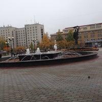 Photo taken at Театральная площадь by Valeriy P. on 9/28/2013