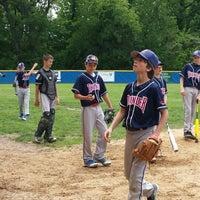 Photo taken at Phil Apreda Field by Erik W. on 5/24/2014
