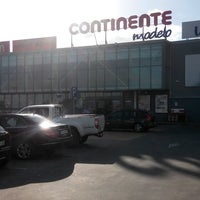 Photo taken at Continente Modelo by Vik N. on 10/4/2013