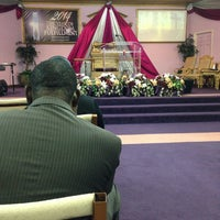 Photo taken at Trinity City of Praise by Tristan B. on 2/27/2014
