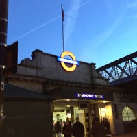 Photo taken at Embankment London Underground Station by Bruce F. on 12/2/2012