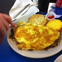 Photo taken at Omelette Factory by Daniel S. on 9/19/2013