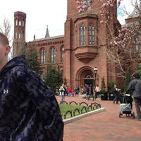Photo taken at Smithsonian Institution Building (The Castle) by Marc L. on 3/29/2013