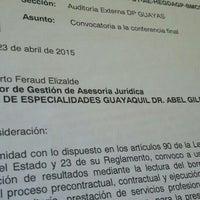 Photo taken at Contraloria General Del Estado by Albert F. on 4/30/2015
