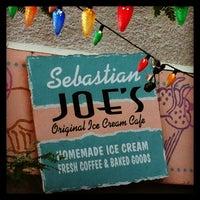 Photo taken at Sebastian Joe's Ice Cream Cafe by Frank J. on 6/24/2013