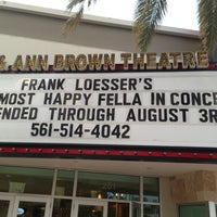 Photo taken at Palm Beach Dramaworks by Charlie F. on 8/2/2014