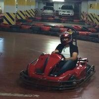 Photo taken at Nctiy Go Kart by Onur V. on 4/21/2014