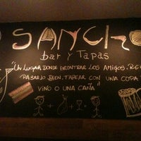 Photo taken at Sancho Bar y Tapas by Andre I. on 11/18/2012