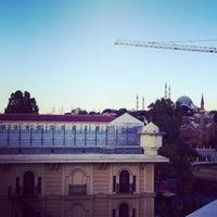 Photo taken at Hotel Hikmet by Kadir A. on 9/21/2013