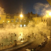 Photo taken at Széchenyi Thermal Bath by Ahmet F. on 2/17/2013