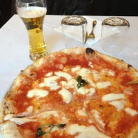 Photo taken at L'Antica Pizzeria da Michele by Kro L. on 1/27/2013