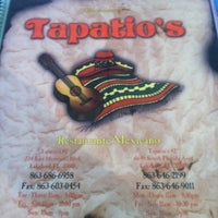 Photo taken at Tapatio's Restaurante Mexicano by Valerie G. on 12/30/2012