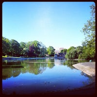 Photo taken at Leazes Park by Suzanne S. on 6/8/2013