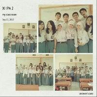 Photo taken at SMA Negeri 1 by Novia C. on 9/18/2013