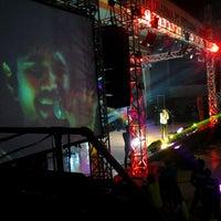 Photo taken at GOR Tridharma by Dyra P. on 1/25/2014