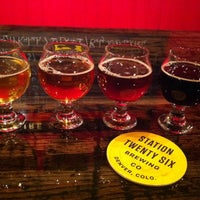 Photo taken at Station 26 Brewing Company by Beth W. on 1/12/2014