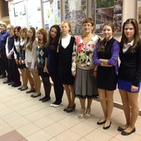 Photo taken at Школа № 1400 (2) by Анастасия К. on 10/19/2013