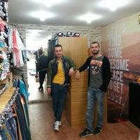 Photo taken at Shqiptar fashion by Ozan Y. on 4/12/2014