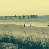Photo taken at Jax Bch Lifeguard Station by MrManns on 6/1/2014