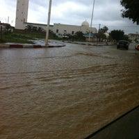 Photo taken at Bir Mroua by Nouha on 3/9/2014