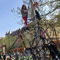 Das Foto wurde bei Olimpia park von Marta B. am 4/12/2014 aufgenommen