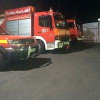 Photo taken at Central Fire Station | ایستگاه آتشنشانی مرکزی قزوین by Mahdi R. on 9/27/2014