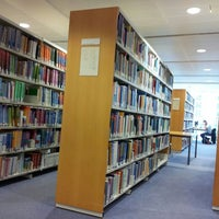 Photo taken at Abertay Library by Gary M. on 9/27/2013