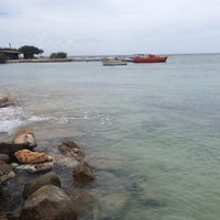 Photo taken at Rodger's Beach by Acram I. on 9/3/2013