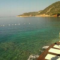 Photo taken at Kaş Marin Hotel Restorant by Nur O. on 6/13/2015